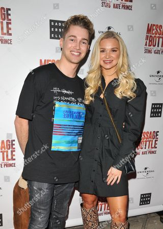 AJ Pritchard and Abbie Quinnen