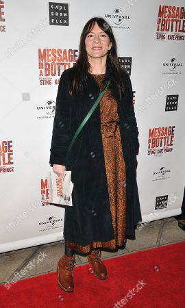 Editorial photo of 'Message in a Bottle' musical, Arrivals, Peacock Theatre, London, UK - 19 Feb 2020
