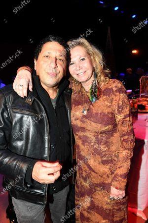 Smaïn and Fiona Gelin
