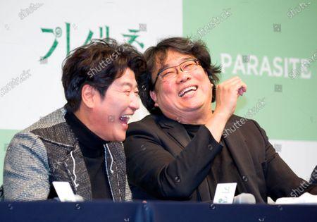 Bong Joon-Ho and Kang-Ho Song