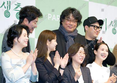 Kang-Ho Song, Bong Joon-Ho, Jin Won Han, Jang Hye-Jin, Park So-dam, Kwak Sin-ae and Cho Yeo-Jeong