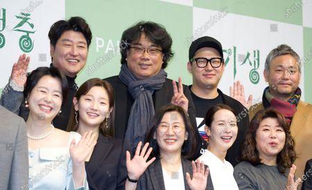 Kang-Ho Song, Bong Joon-Ho, Jin Won Han, Lee Ha-jun, Jang Hye-Jin, Park So-dam, Kwak Sin-ae, Cho Yeo-Jeong and Lee Jung-Eun