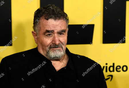 """Stock Image of Saul Rubinek, a cast member in the Amazon Prime Video series """"Hunters,"""" poses at the premiere of the show at the Directors Guild of America, in Los Angeles"""