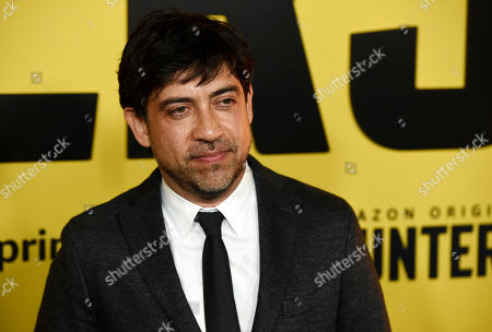 """Stock Picture of Alfonso Gomez-Rejon, director/executive producer of the Amazon Prime Video series """"Hunters,"""" poses at the premiere of the show at the Directors Guild of America, in Los Angeles"""