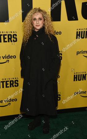 "Carol Kane, a cast member in the Amazon Prime Video series ""Hunters,"" poses at the premiere of the show at the Directors Guild of America, in Los Angeles"