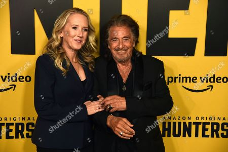 """Editorial picture of World Premiere of """"Hunters"""", Los Angeles, USA - 19 Feb 2020"""