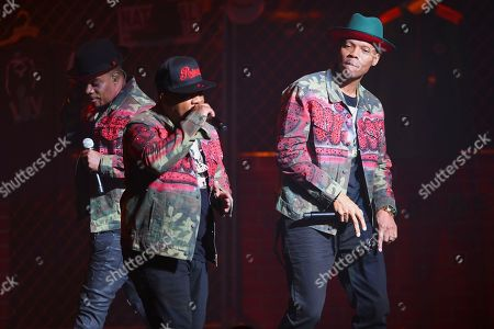 Stock Picture of Ricky Bell, Ronnie DeVoe, Michael Bivins