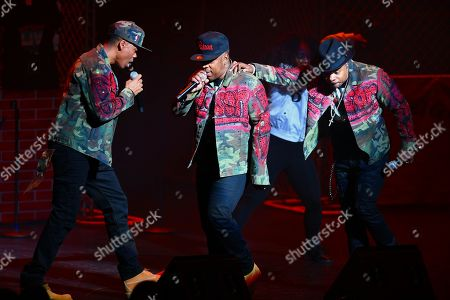 Editorial photo of Bell Biv DeVoe in concert at The Broward Center for the Performing Arts, Fort Lauderdale, USA - 19 Feb 2020