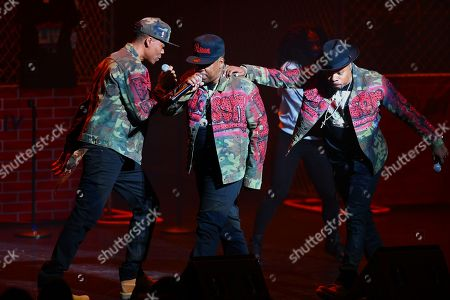 Stock Image of Ricky Bell, Ronnie DeVoe, Michael Bivins