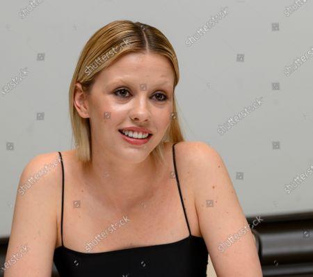 Stock Image of Mia Goth.