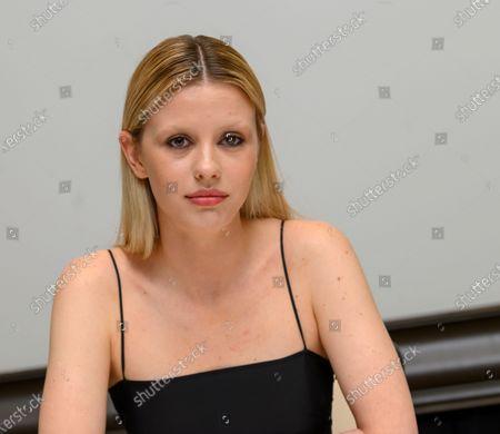 Stock Photo of Mia Goth.