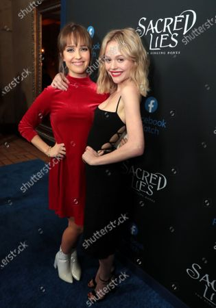 Siobhan Williams and Emily Alyn Lind