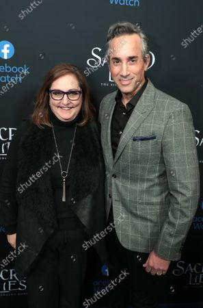 Co-President Blumhouse Television Marci Wiseman and Co-President Blumhouse Television Jeremy Gold