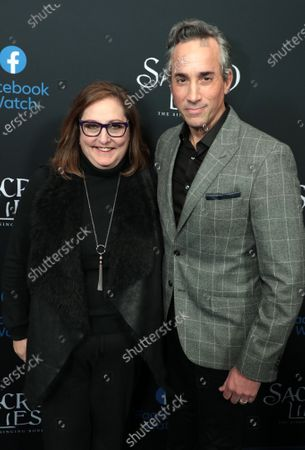 Stock Picture of Co-President Blumhouse Television Marci Wiseman and Co-President Blumhouse Television Jeremy Gold