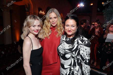 Emily Alyn Lind, Kristin Bauer van Straten and Showrunner and Exec. Producer Raelle Tucker