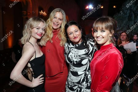 Emily Alyn Lind, Kristin Bauer van Straten, Showrunner and Exec. Producer Raelle Tucker and Siobhan Williams