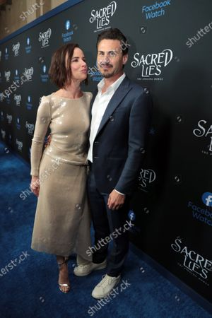 Stock Picture of Juliette Lewis and Brad Wilk