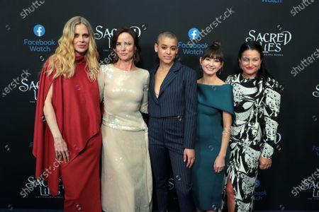 Stock Photo of Kristin Bauer van Straten, Juliette Lewis, Jordan Alexander, Kimiko Glenn and Showrunner and Exec. Producer Raelle Tucker