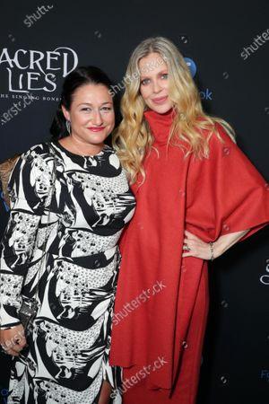 Showrunner and Exec. Producer Raelle Tucker and Kristin Bauer van Straten