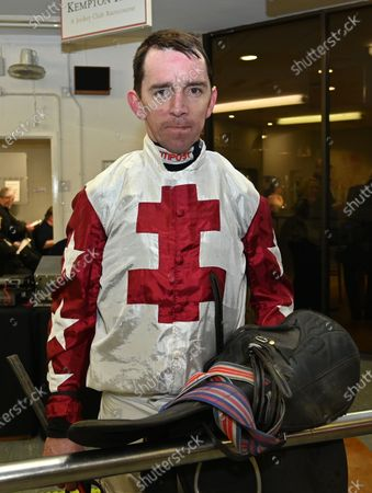 Leighton Aspell, jockey, who today announced that he will retire after his two rides at Fontwell tomorrow (Sunday 23rd Feb).