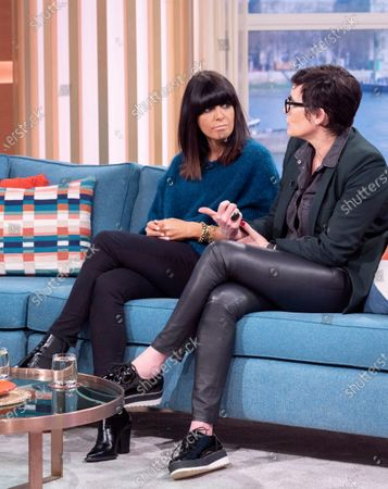 Editorial image of 'This Morning' TV show, London, UK - 20 Feb 2020