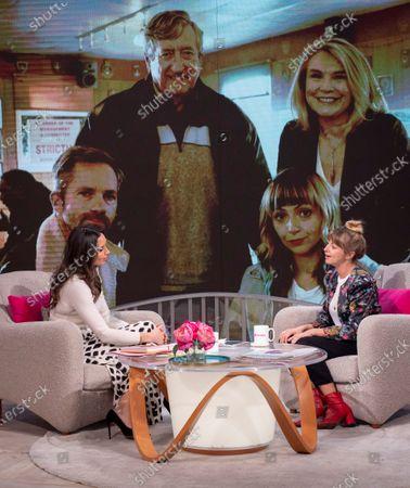 Editorial image of 'Lorraine' TV show, London, UK - 20 Feb 2020