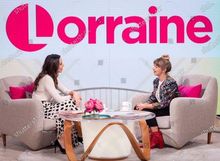 Christine Lampard and Lisa McGrillis