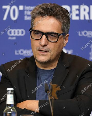 Programmer, film critic and director Kleber Mendonca Filho (Brazil), attend a press conference during the 70th annual Berlin International Film Festival (Berlinale), in Berlin, Germany, 20 February 2020. The Berlinale runs from 20 February to 01 March 2020.