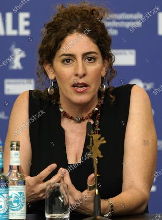 Annemarie Jacir (Palestine), attend a press conference during the 70th annual Berlin International Film Festival (Berlinale), in Berlin, Germany, 20 February 2020. The Berlinale runs from 20 February to 01 March 2020.