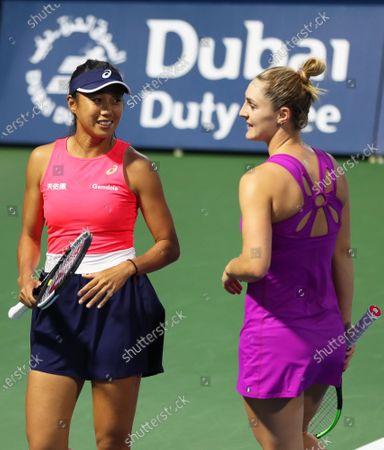 Editorial picture of Dubai Tennis WTA Championships, United Arab Emirates - 20 Feb 2020