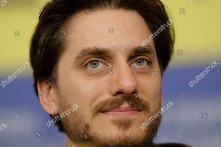 Actor Luca Marinelli, jury member of the 70th International Film Festival Berlin, Berlinale, attends a news conference in Berlin, Germany