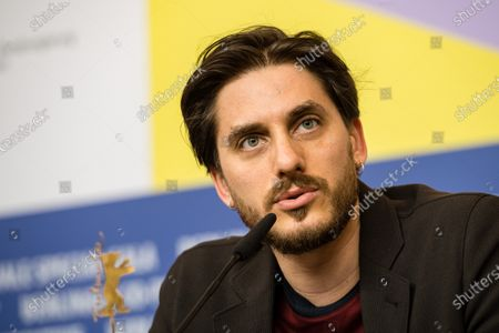 Luca Marinelli (Italy), attend a press conference during the 70th annual Berlin International Film Festival (Berlinale), in Berlin, Germany, 20 February 2020. The Berlinale runs from 20 February to 01 March 2020.