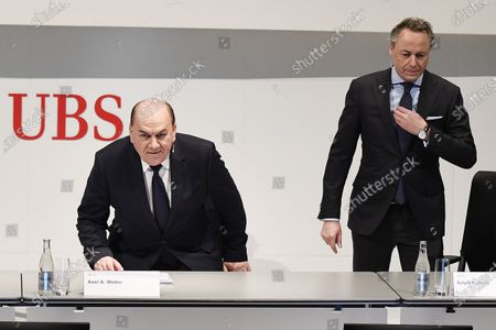 Editorial picture of New CEO of Swiss Bank UBS, Zuerich, Switzerland - 20 Feb 2020