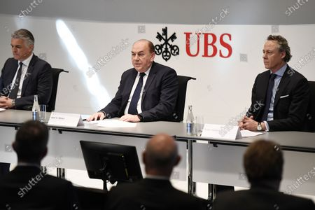 Editorial image of New CEO of Swiss Bank UBS, Zuerich, Switzerland - 20 Feb 2020