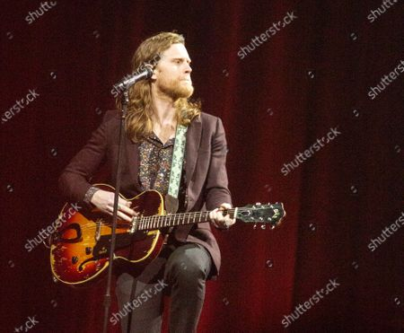 Stock Picture of The Lumineers - Wesley Schultz