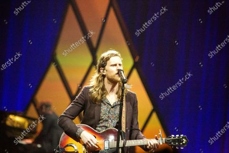 Stock Photo of The Lumineers - Wesley Schultz