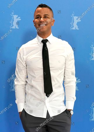 Yanic Truesdale poses during the 'My Salinger Year' photocall during the 70th annual Berlin International Film Festival (Berlinale), in Berlin, Germany, 20 February 2020. The movie is presented in the Berlinale Special section at the Berlinale that runs from 20 February to 01 March 2020.