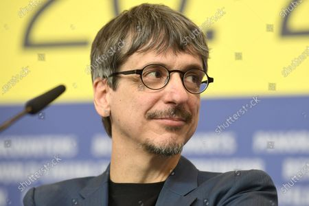 Philippe Falardeau attends the 'My Salinger Year' press conference during the 70th annual Berlin International Film Festival (Berlinale), in Berlin, Germany, 20 February 2020. The movie is presented in the Berlinale Special section at the Berlinale that runs from 20 February to 01 March 2020.