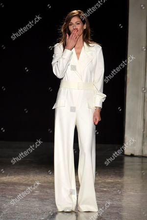 Editorial image of Genny show, Runway, Fall Winter 2020, Milan Fashion Week, Italy - 20 Feb 2020