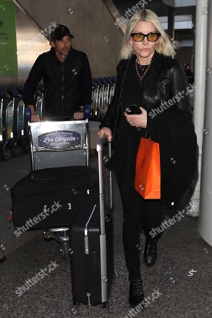 Stock Picture of Patrick Dempsey and wife Jillian Fink