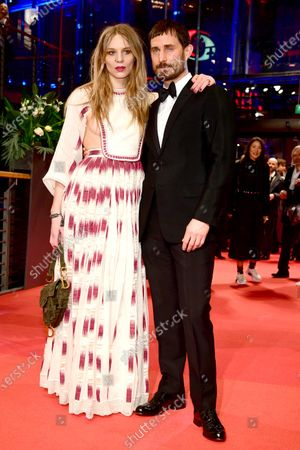 Stock Photo of Lilith Stangenberg and Clemens Schick (R) arrive for the Opening Ceremony of the 70th annual Berlin International Film Festival (Berlinale), in Berlin, Germany, 20 February 2020. The Berlinale runs from 20 February to 01 March 2020.