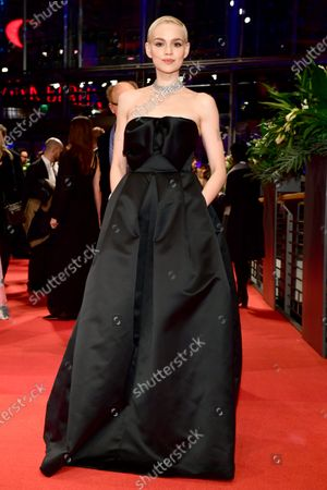 Emilia Schuele arrives for the Opening Ceremony of the 70th annual Berlin International Film Festival (Berlinale), in Berlin, Germany, 20 February 2020. The Berlinale runs from 20 February to 01 March 2020.