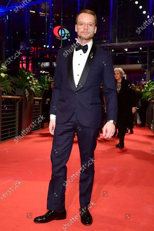 Stefan Konarske arrives for the Opening Ceremony of the 70th annual Berlin International Film Festival (Berlinale), in Berlin, Germany, XX February 2020. The Berlinale runs from 20 February to 01 March 2020.