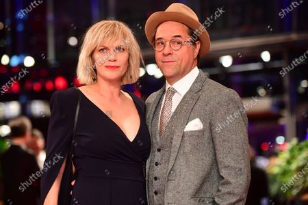 Anna Loos (L) and Jan Josef Liefers arrive for the Opening Ceremony of the 70th annual Berlin International Film Festival (Berlinale), in Berlin, Germany, 20 February 2020. The Berlinale runs from 20 February to 01 March 2020.