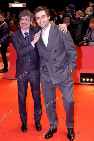 Philippe Falardeau (L) and Douglas Booth arrive for the Opening Ceremony of the 70th annual Berlin International Film Festival (Berlinale), in Berlin, Germany, 20 February 2020. The Berlinale runs from 20 February to 01 March 2020.