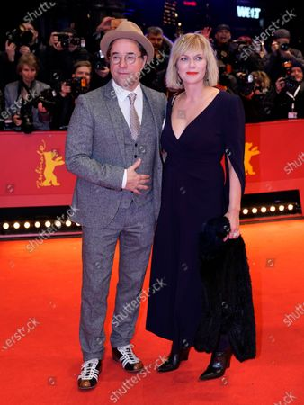 Jan Josef Liefers (L) and Anna Loos arrive for the Opening Ceremony of the 70th annual Berlin International Film Festival (Berlinale), in Berlin, Germany, 20 February 2020. The Berlinale runs from 20 February to 01 March 2020.