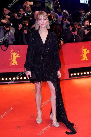 Heike Makatsch arrives for the Opening Ceremony of the 70th annual Berlin International Film Festival (Berlinale), in Berlin, Germany, 20 February 2020. The Berlinale runs from 20 February to 01 March 2020.