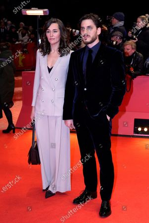 International Jury member Luca Marinelli (R) amd Alissa Jung arrive for the Opening Ceremony of the 70th annual Berlin International Film Festival (Berlinale), in Berlin, Germany, 20 February 2020. The Berlinale runs from 20 February to 01 March 2020.