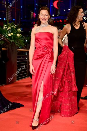 Hannah Herzsprung arrives for the Opening Ceremony of the 70th annual Berlin International Film Festival (Berlinale), in Berlin, Germany, 20 February 2020. The Berlinale runs from 20 February to 01 March 2020.
