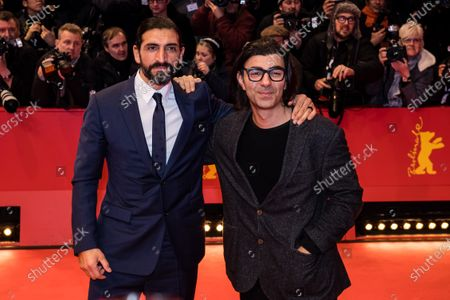 Numan Acar and Fatih Akin arrive for the Opening Ceremony of the 70th annual Berlin International Film Festival (Berlinale), in Berlin, Germany, 20 February 2020. The Berlinale runs from 20 February to 01 March 2020.